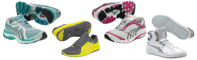 Puma Athletic Shoes Liquidation